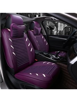 Colorful Attractive Design Pure Genuine Leather Universal Car Seat Cover