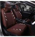 Colorful Attractive Design Pure Genuine Leather Universal Car Seat Cover