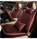Color Brilliancy Modern Pure Ice Silk And Rayon Universal Car Seat Cover