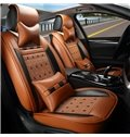 Beautiful in Colors Modern Striped Leather Universal Car Seat Cover