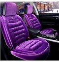 Color Brilliancy Elegant Shape Princess wind Velvet Universal Car Seat Cover