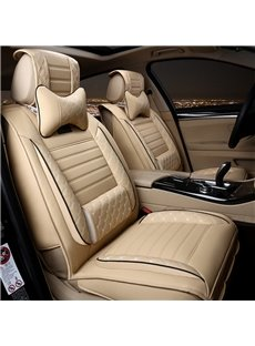 Fashionable Patterns Elegant Shape Solid Genuine Leather Universal Car Seat Cover