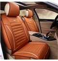 Delicate Colors Ornamental Striped Flax And Natural Fibers Universal Car Seat Cover