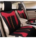 Pretty and Colorful Environment-Friendly Plaid Flax And Natural Fibers Universal Car Seat Cover