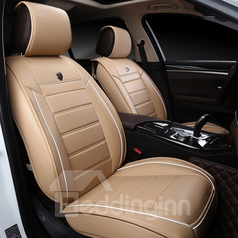 Beautiful in Colors Delicate Pure Genuine Leather Universal Car Seat Cover