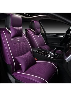 Beautiful in Colors Luxurious Solid Genuine Leather Universal Car Seat Cover