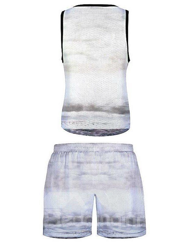 Casual Style Cartoon Printed 3D Sleeveless & Shorts Sets