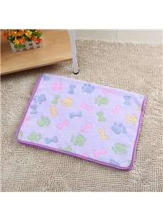 Soft Warm Pattern Puupy Dog&Cat Pets Blanket