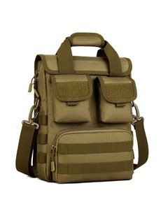 Waterproof Camo MOLLE Riding Outdoor Travel Casual Messenger Bag Men' s Backpack