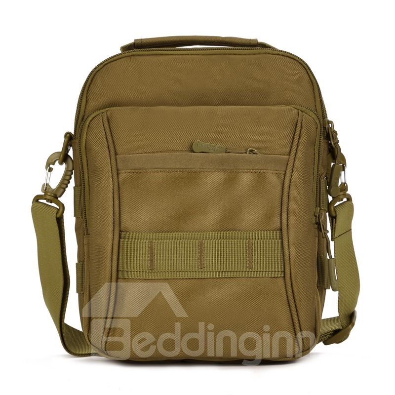 Waterproof Outdoor MOLLE System Square Messenger Bag Backpack