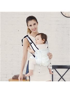 Portable Light Nylon Simple Style Pure Color Baby Sling Carrier