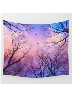 59L*51W Colorful Cloud and Trees Scenery Fresh Style Wall Tapestries