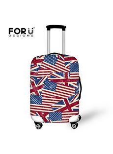 United States of America USA Flag Waterproof Stretch18-30 Inch 3D Printed Luggage Protector Covers