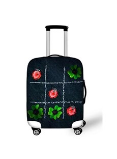 Clover Ladybug Pattern Washable Fit 18-30 Inch 3D Printed Suitcase Luggage Protector Covers