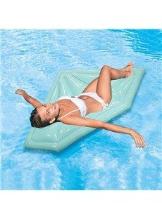 Outdoor Sky Blue Diamond Swimming Pool Inflatable Float Raft