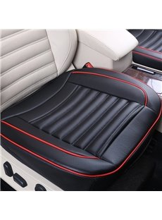 Business Style Simple Stripes With Side Cushions Universal Fit Car Seat Mats