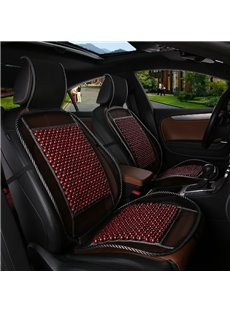 Classy Wood Beads Design For Heat Reduction And Comfort Universal Fit Car Seat Cover