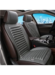 Elegant Design With Internal Cooling System Universal Car Seat Cover Mat Single Piece