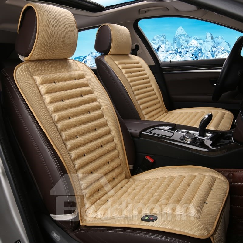 45 Elegant Design With Internal Cooling System Universal Car Seat Cover Mat Single Piece
