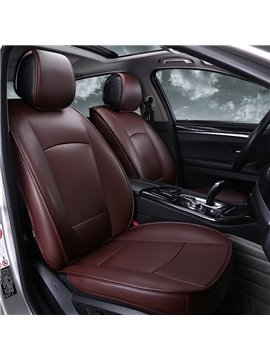 Classic Business Style Plain Streamlined Design Custom Fit Car Seat Covers