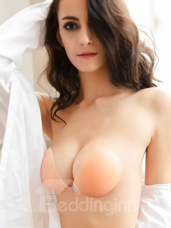 Wings Reusable Strapless Self Adhesive Invisible Silicone Push-up Bra beddinginn