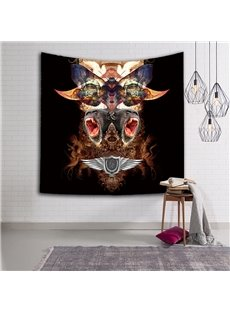 Chic Style Gorilla and Cow Head Pattern Hanging Wall Tapestries