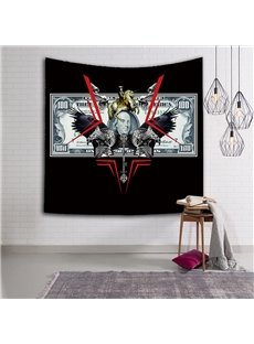 Chic Style One Hundred Dollars Pattern Hanging Wall Tapestries