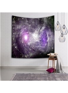 3D Purple Cloud Galaxy Space Hanging Wall Tapestries