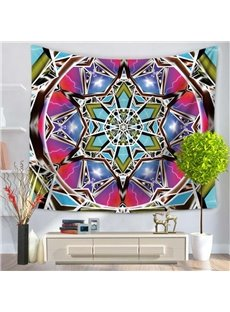 Tribe Colorful Mandala Prints Bohemian Style Hanging Wall Tapestry