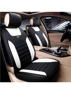 Sports Series Futuristic Design Contrasting Colors Universal Car Seat Cover