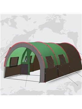 8-10 Person 2-Room High Quality Extra Capacity Waterproof Stable Camping Tent
