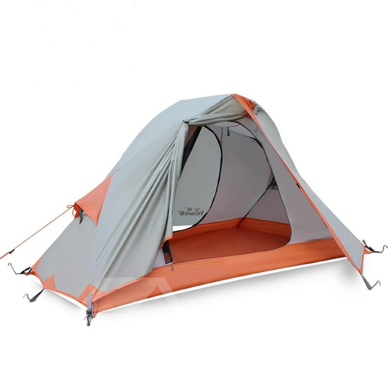 1 Person Waterproof Breathable Lightweight Easy to Set up C&ing Hiking Tent - beddinginn.com  sc 1 st  Beddinginn.com & 1 Person Waterproof Breathable Lightweight Easy to Set up Camping ...