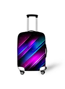 Different Color Point Pattern Spandex Washable Waterproof 3D Printed Luggage Cover