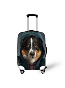 Hoodies Dogs Face Animals Waterproof Washable 3D Printed Luggage Covers