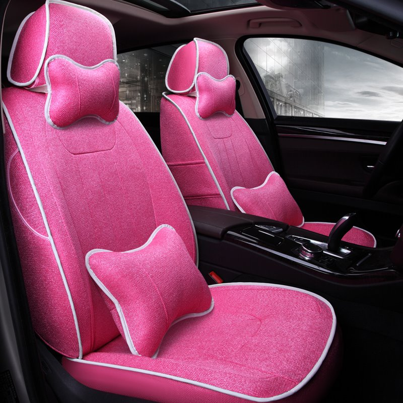 Beddinginn Color Flax Custom Fit Car Seat Cover Comfortable