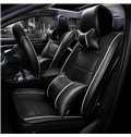 Modernistic Business Style Pure Color Leather Custom Seat Cover
