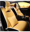 Simplicity Design Pure Color Designed For Comfort Wool Universal Car Seat Cover