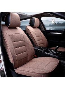Casual Style Comfortable And Soft Linen Universal Car Seat Cover
