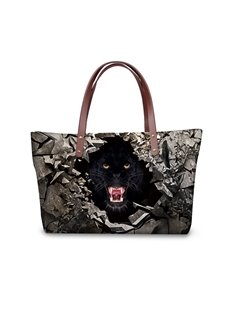 Roar in the Dark 3D Printed for Women Girls Shoulder HandBags