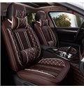 Luxury Series Plaid Design With Comfy Cushions Universal Fit Car Seat Covers