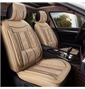 Luxury Series Plaid Patterns Extra Comfy Cushions Universal Fit Car Seat Covers