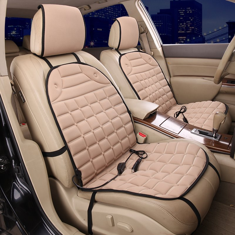 Super Cost-efficient Warm Cozy And Comfortable For Winter Single Heated Seat Covers