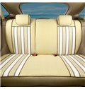 Cozy Design Soft And Comfortable Stripes Patterns Custom Fit Car Seat Covers