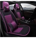 Casual Style Diamond Patterns Soft And Comfy Custom Fit Car Seat Covers