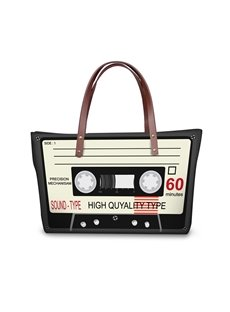 60 Radio Type Waterproof 3D Printed Shoulder Handbag