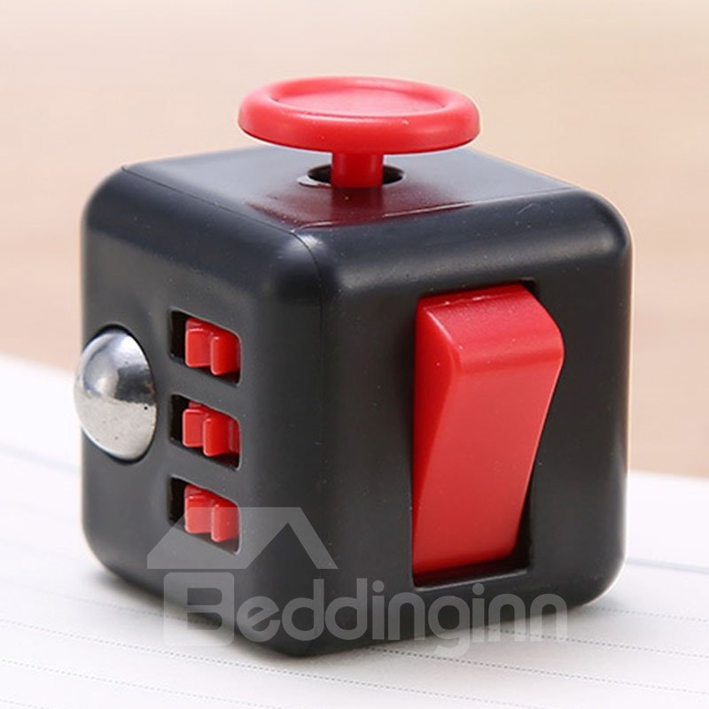 Colorful Fidget Cube Dice Relieves Stress and Anxiety Attention Toy