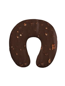 Tasteful 3D Chocolate Print U-Shape Memory Foam Neck Pillow