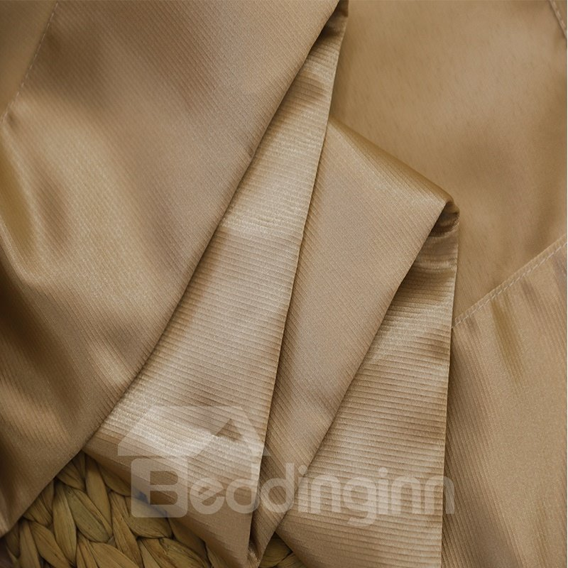 Blackout and Decoration Polyester Plain Weave Colorful Choice Room Curtains