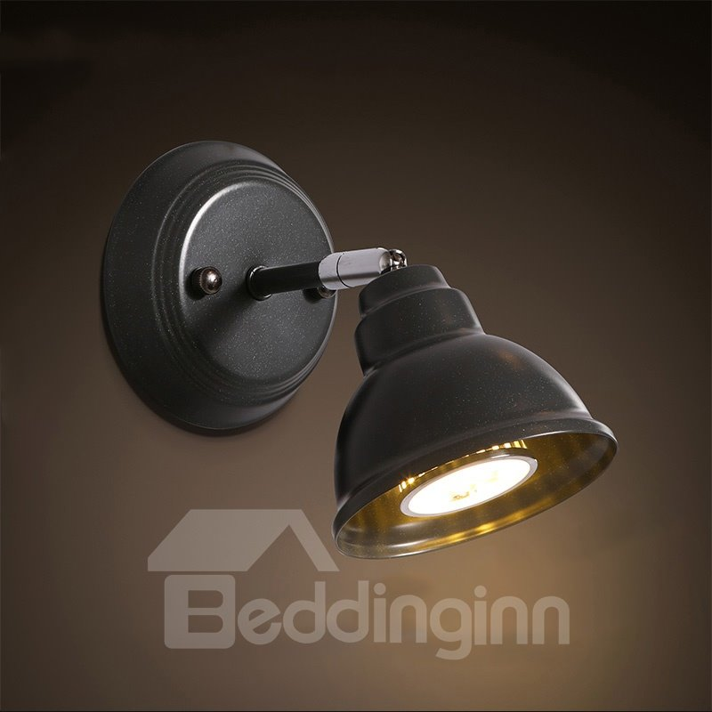 Elegant Simple Style Hardware 1-Head Decorative Wall Light