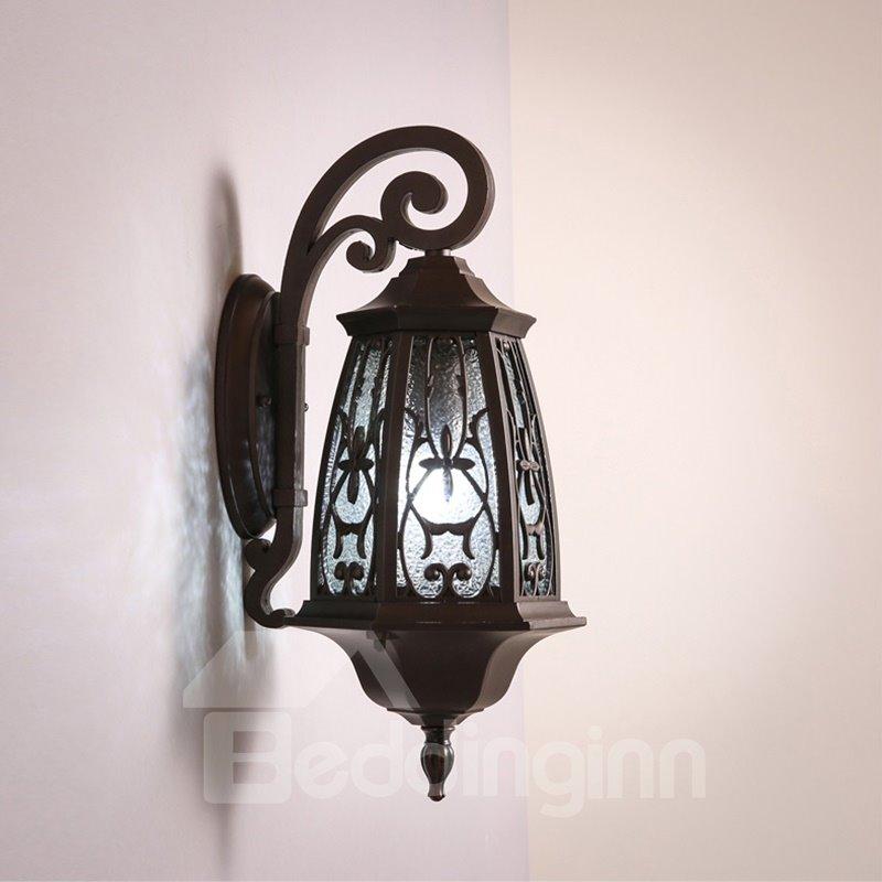 Retro European Style Hardware Simple 1-Head Decorative Wall Light